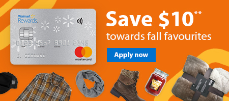 Save $10** towards fall favourites – Apply now