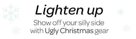 Lighten up - Show off your silly side with holiday cheer 8425e37fb